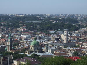 High Castle View in Lviv, Ukraine, Ukraine
